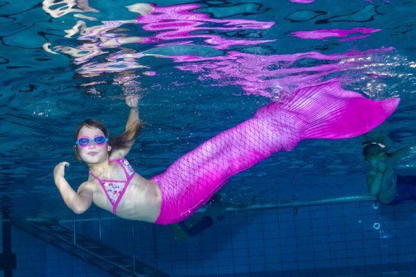 Meerjungfrau werden in Dresden und Delmenhorst