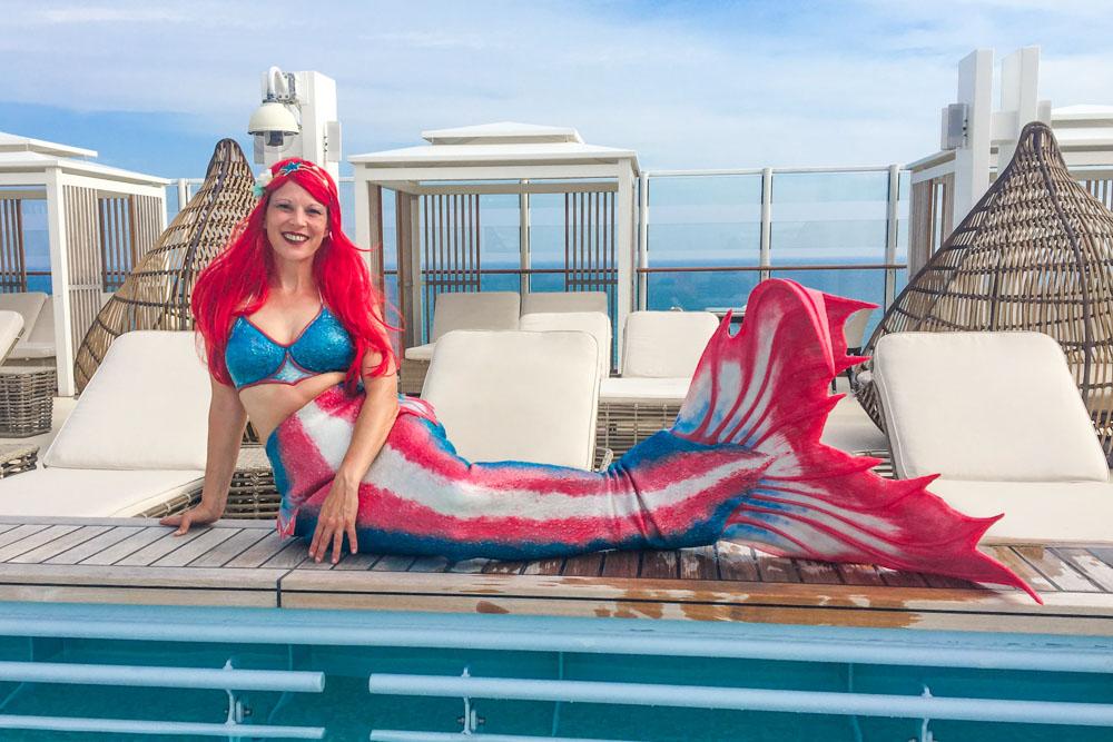 Andrea ist Meerjungfrauen-Instruktorin in NRW