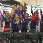 Das Team vom Mermaid Kat Shop auf der Boot in Düsseldorf