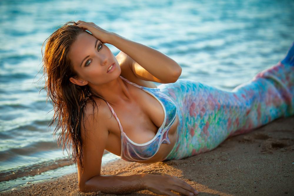 Fotoshootings auf Elba - Meerjungfrauenreise nach Italien mit Mermaid Kat