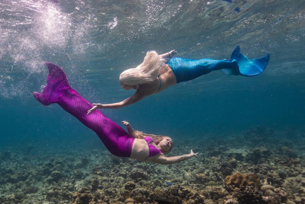 Meerjungfrauenreise nach Elba Italien