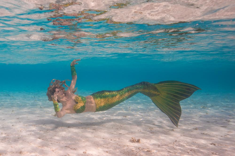 Meerjungfrauenurlaub nach Italien - Unterwassershootings