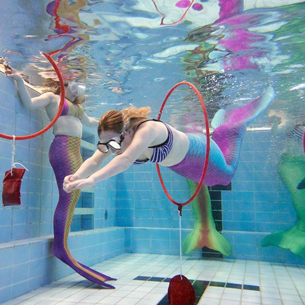 Mermaiding schwimmen für Kinder und Erwachsene in Rügen