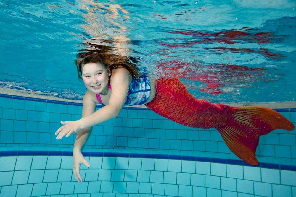 Meerjungrauenkurse in Dresden mit der Mermaid Kat Academy
