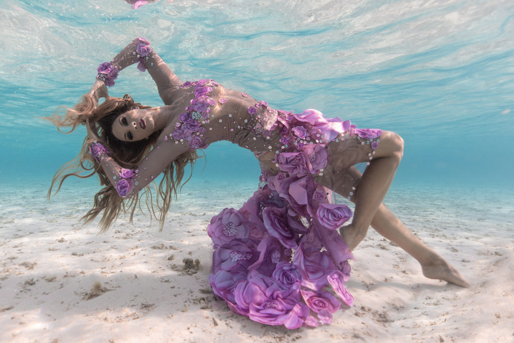 Unterwassermodel-Shootings in Bali