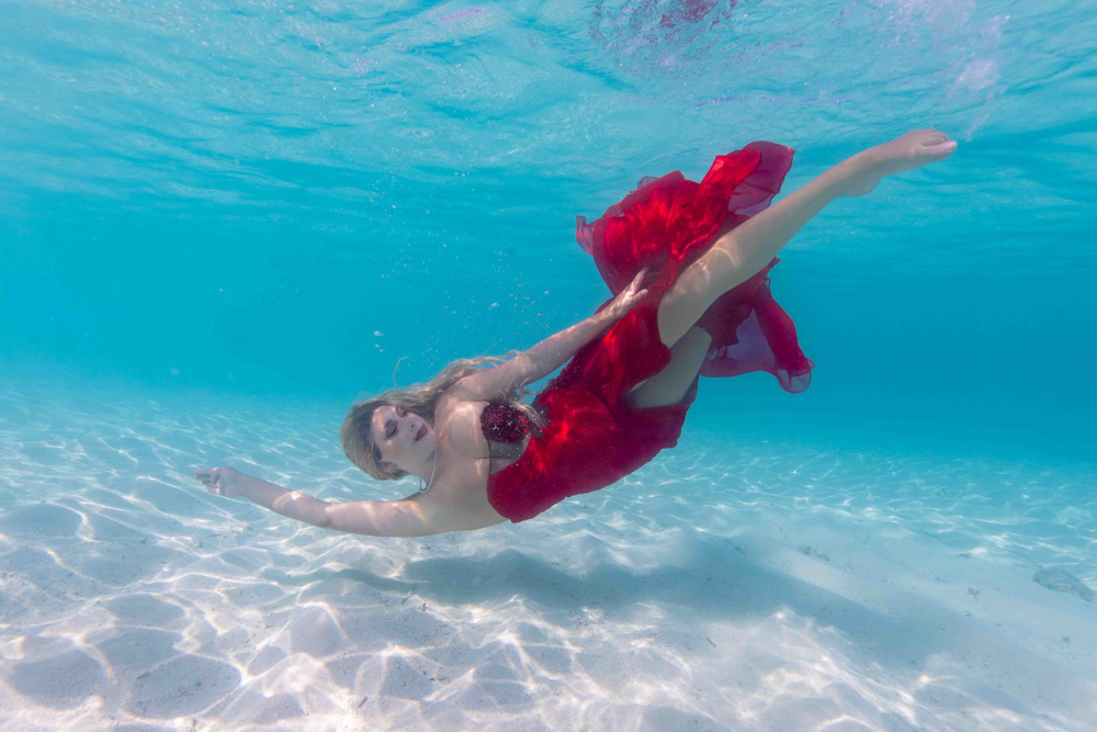 Unterwassermodel Workshop Bali