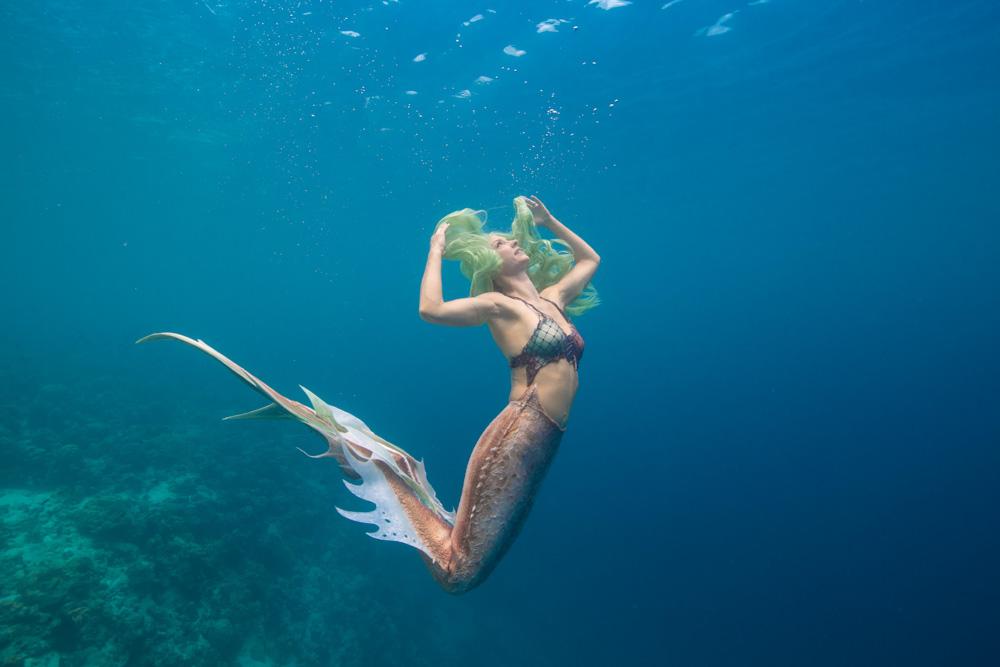 Unterwassershootings in Elba - Meerjungfrauenreise nach Italien