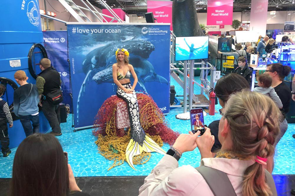 Meerjungfrau zum buchen für Veranstaltungen
