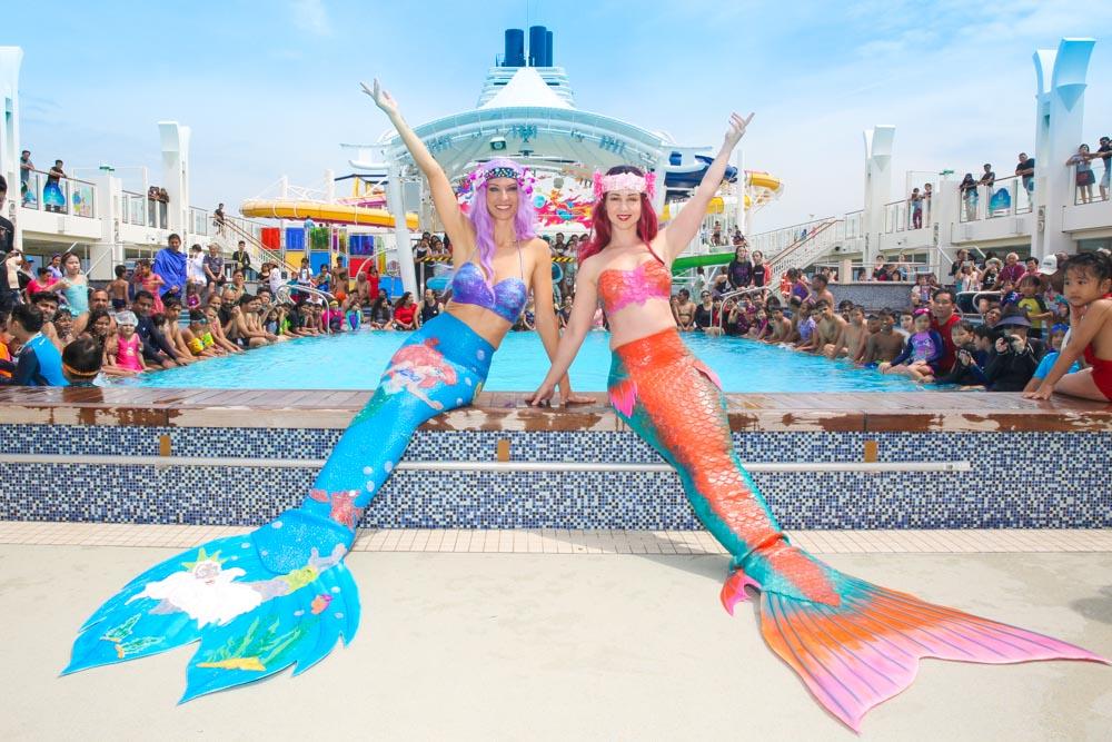Meerjungfrauen Entertainment für Ihre Veranstaltung