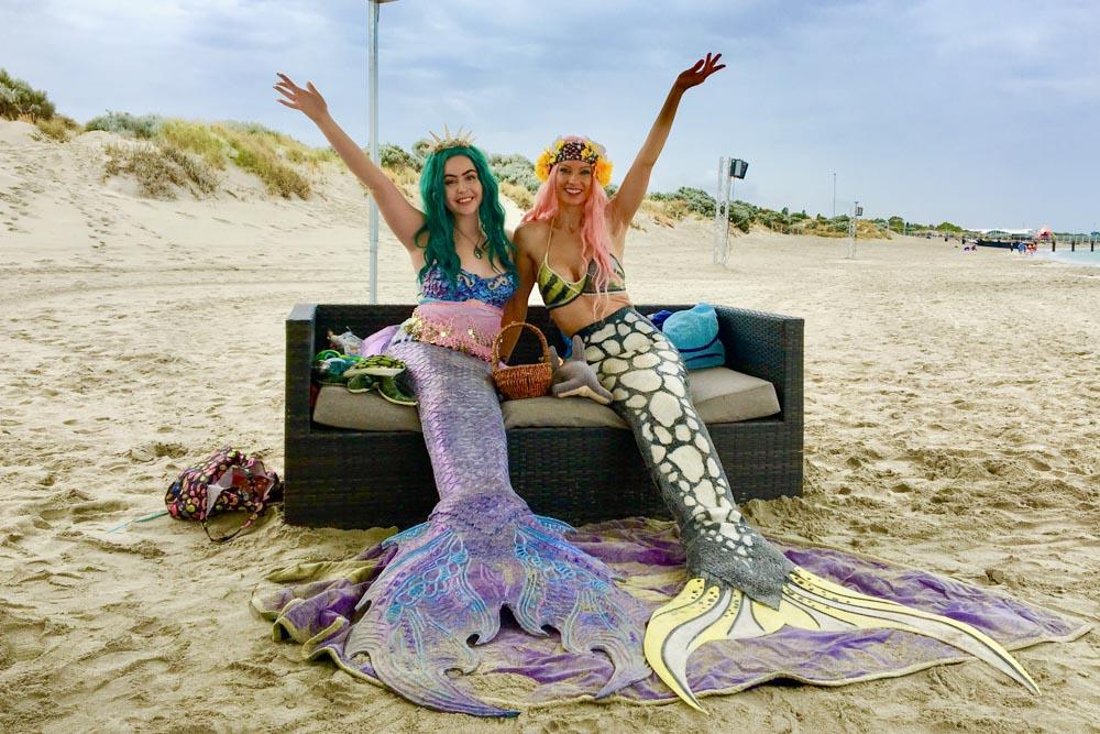 Meerjungfrauen zu vermieten