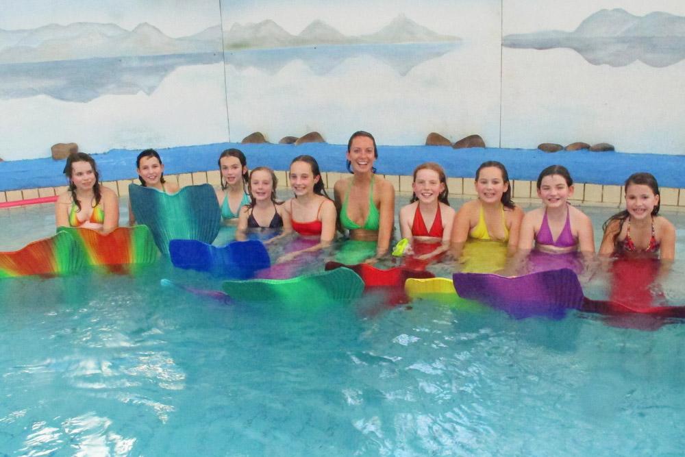 Meerjungfrauenschwimmkurse in Dresden