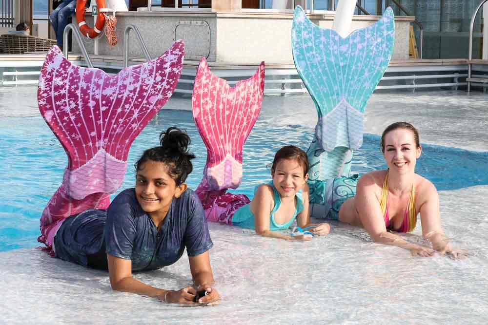 Mermaidingkurse für Wassernixen in Dresden
