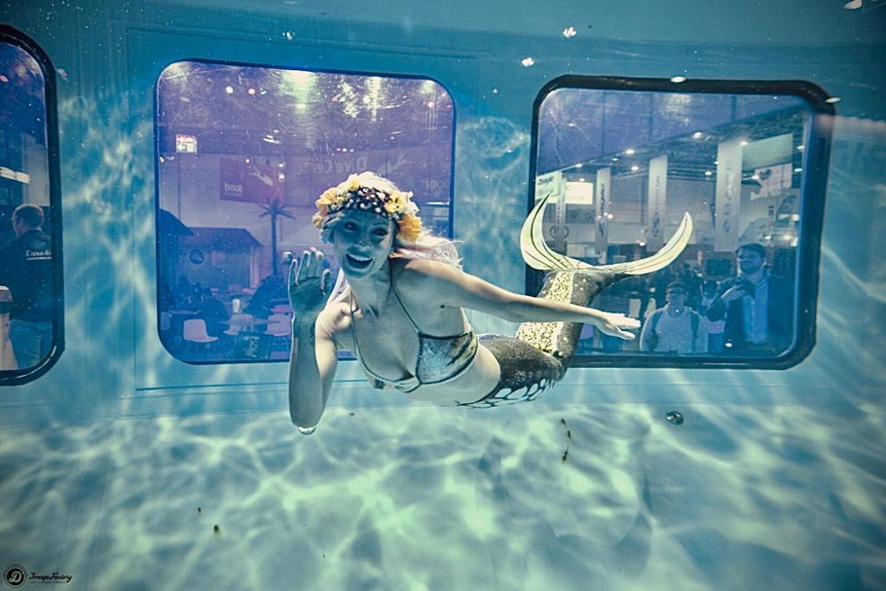 Unterwassershow - Meerjungfrauen Entertainment