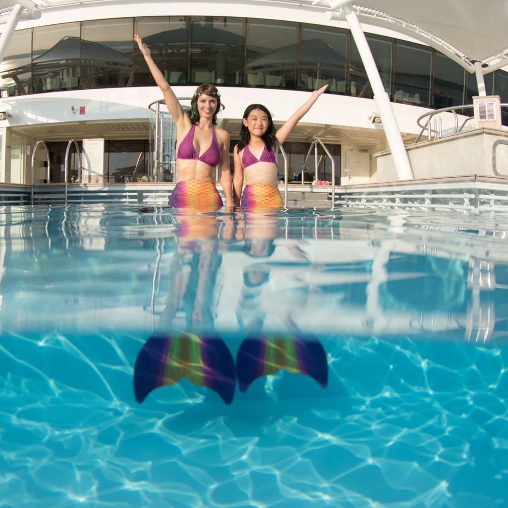 Werde eine Meerjungfrau - Mermaidingkurse in Dresden