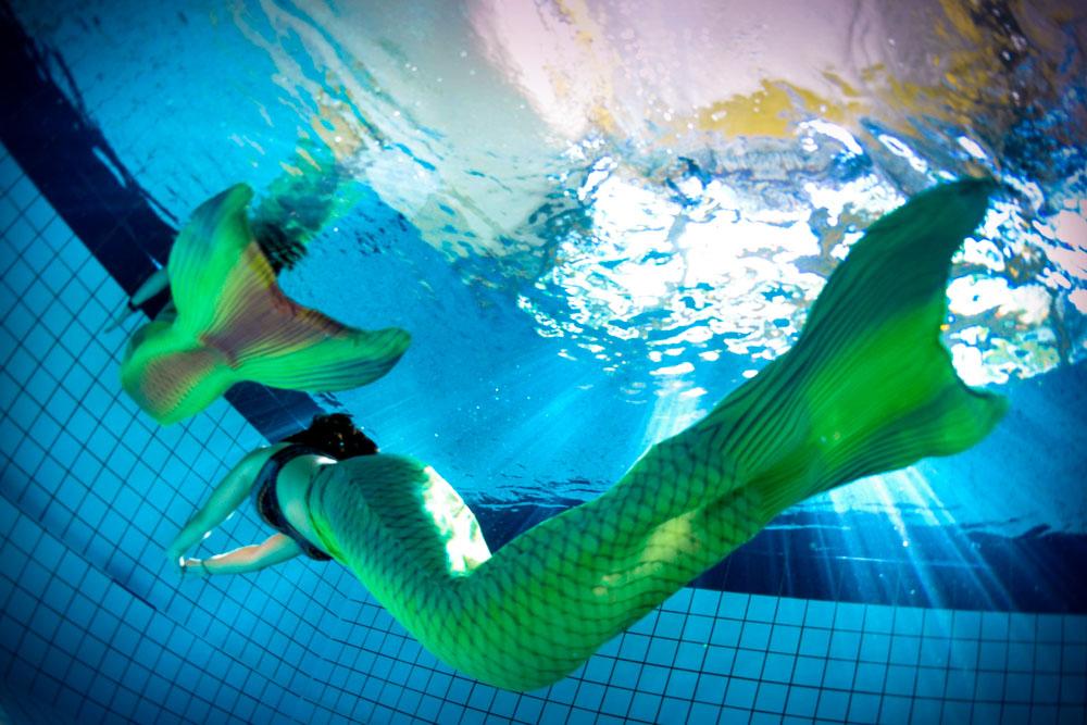 Was ist eine Mermaid Flosse?