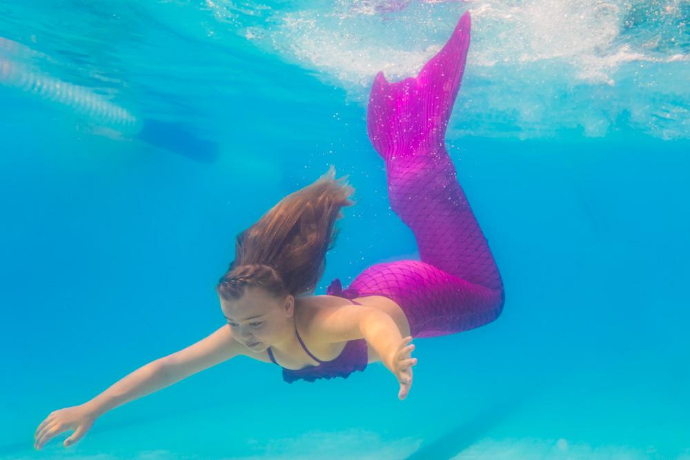 Wo kann ich mit einer Mermaid Flosse schwimmen?