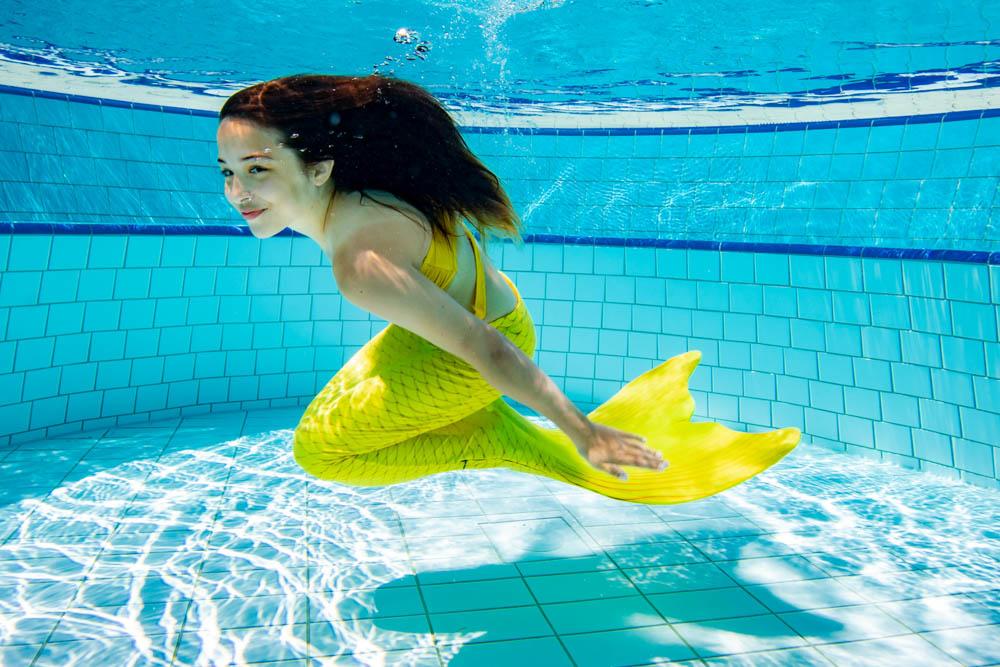 Anfängerkurs für Wassernixen - Schwimmen wie Arielle
