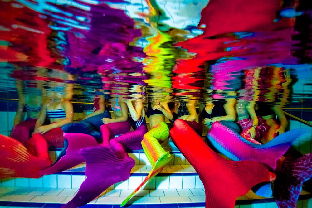Meerjungfrauenkurse - Schwimmen wie Arielle die Meerjungfrau