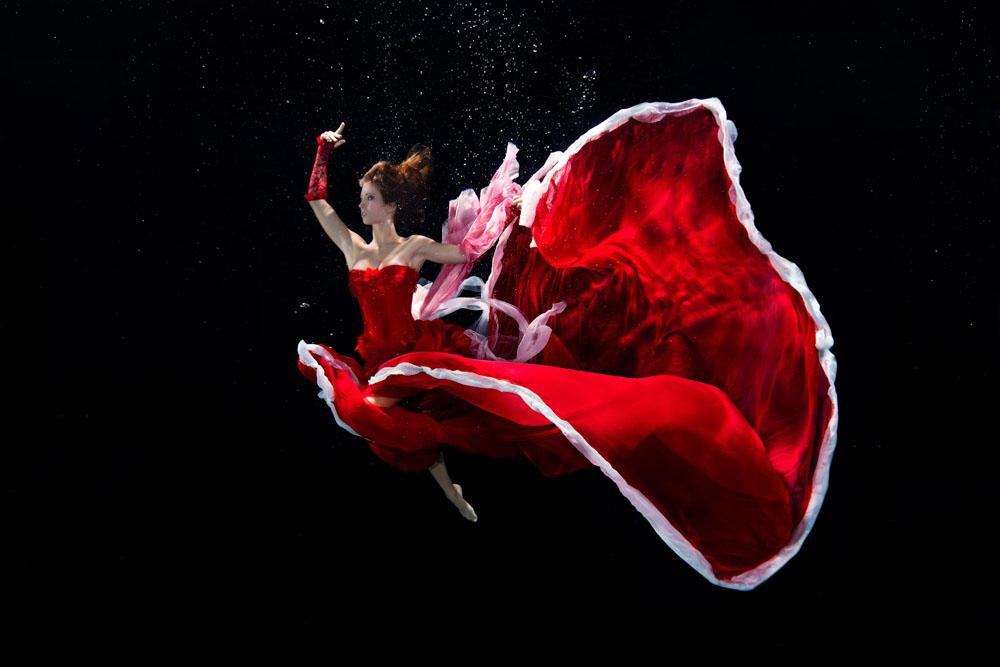 Unterwasser Modelling Kurs mit Mermaid Kat (Katrin Felton)