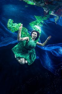 Unterwasser-Model-Shooting wie bei Germanys Next Topmodel