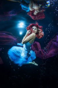Unterwasser-Model-Shooting wie bei Germanys Next Topmodel - Wie bei Heidi Klum