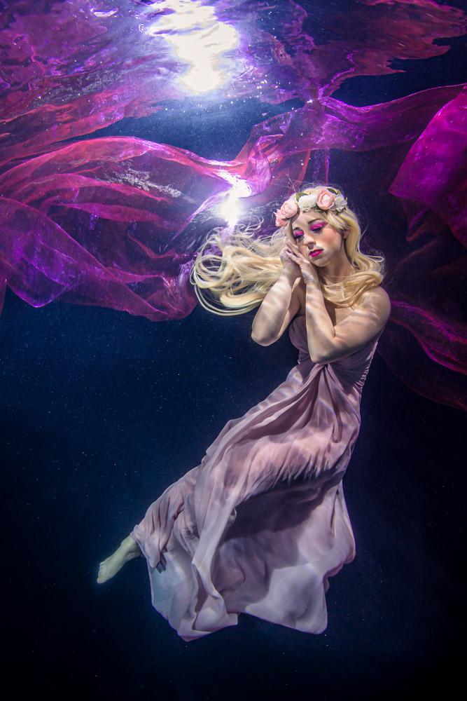 Unterwassermodel werden wie bei GNTM - Unterwassermodelkurs mit Mermaid Kat - Unterwasser Model Workshop