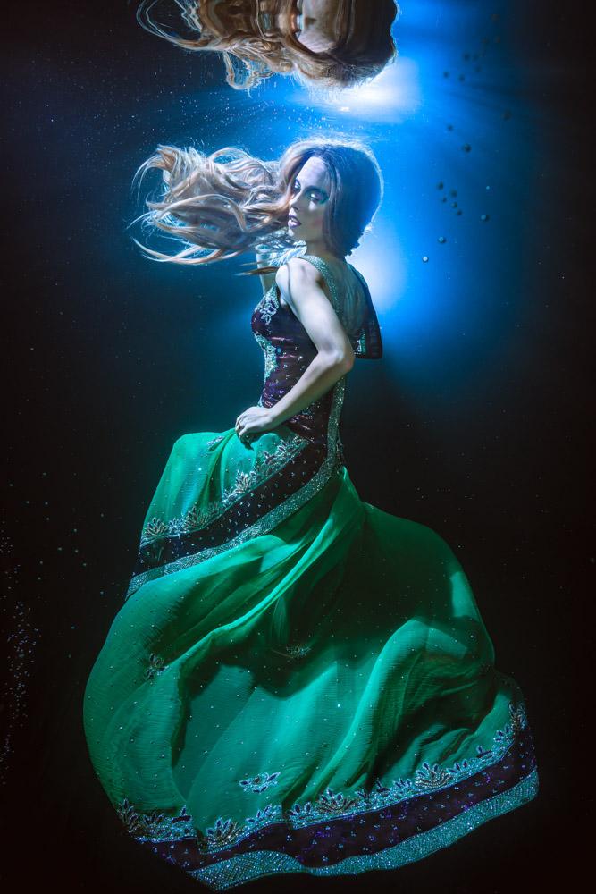 Unterwassermodel Katrin Gray - Unterwassershooting wie bei GNTM