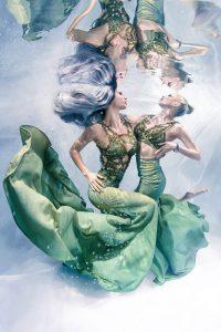 Unterwassermodel werden wie bei GNTM - Unterwassermodelkurs mit Mermaid Kat
