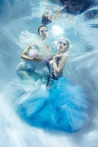 Unterwassermodel werden wie bei GNTM - Wie bei Heidi Klum