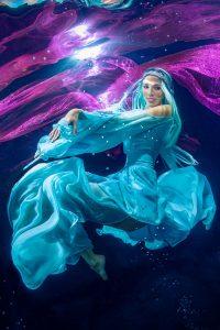 Unterwassershooting wie bei Heidi Klum - Germanys Next Topmodel