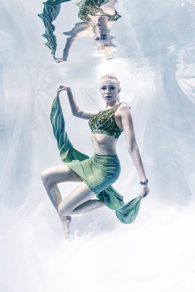 Unterwasser Modelling Kurs - Unterwasserfotoshooting wie bei Germanys Next Topmodel