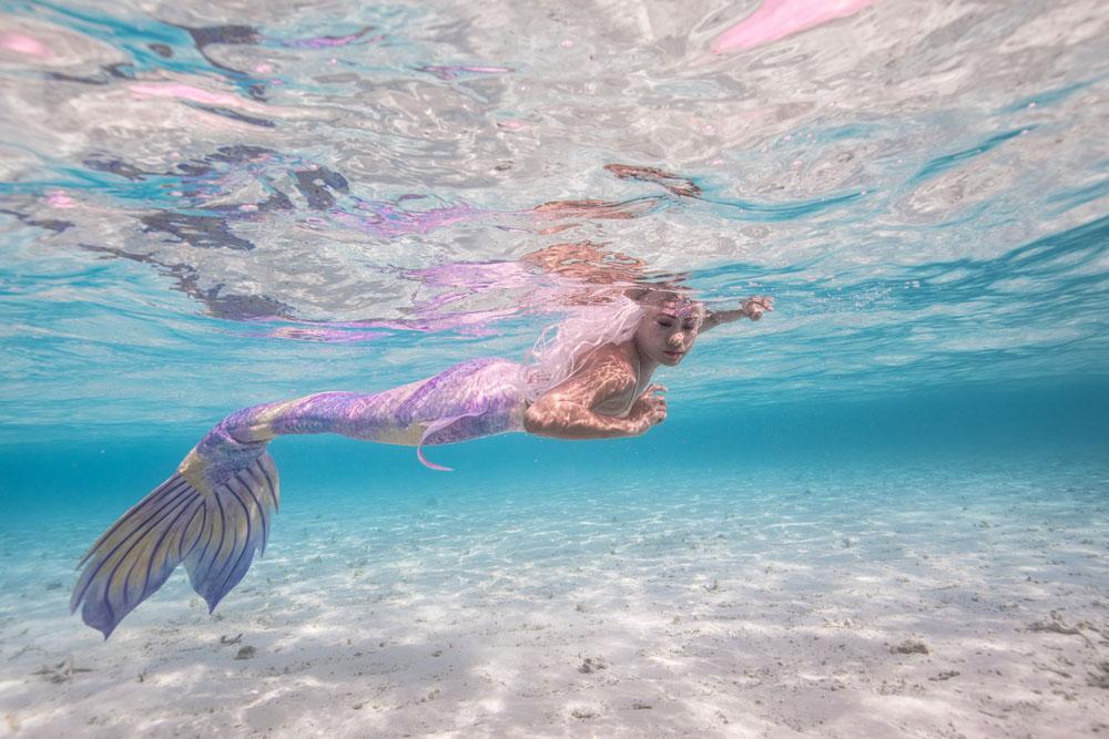 Meerjungfrauen Camp und Unterwasser Modelling Reise - Mermaid Week