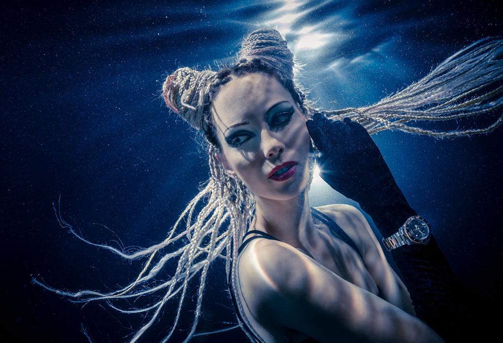 Unterwassermodelfotografie - Unterwassershooting mit Mermaid Kat und Konstantin Killer