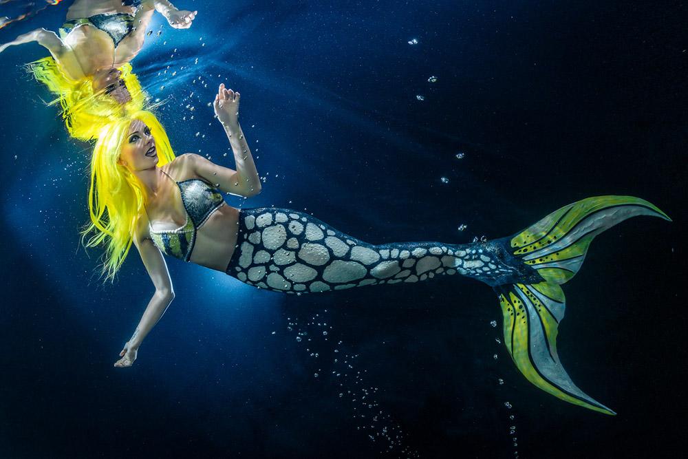 Unterwassershooting als Meerjungfrau in Soßmar bei Hohenhameln